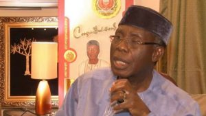 Audu Ogbeh, Nigeria's Minister of Agriculture